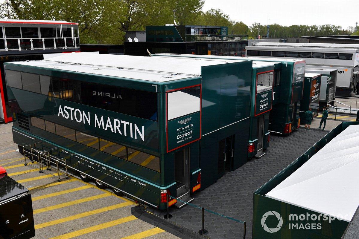 El motorhome de Aston Martin