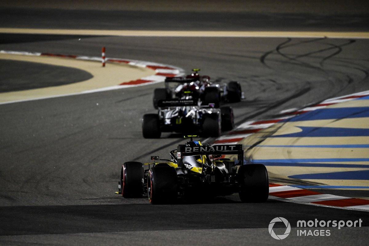 Antonio Giovinazzi, Alfa Romeo Racing C39, Pierre Gasly, AlphaTauri AT01, Esteban Ocon, Renault F1 Team R.S.20