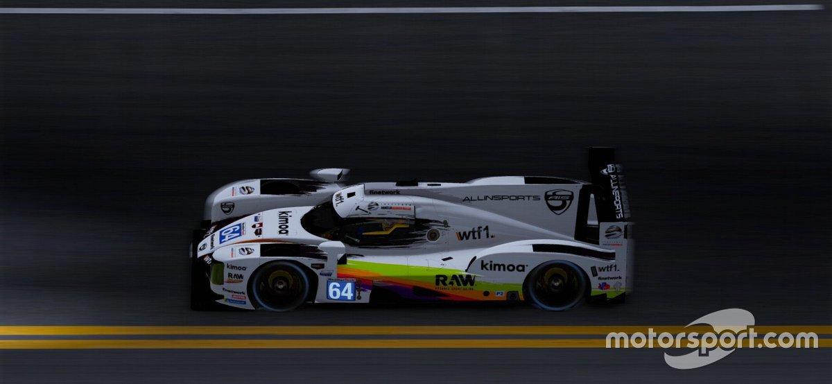 LMP2 de Fernando Alonso, Tony Kanaan, Rubens Barrichello