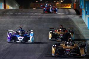Antonio Felix da Costa, DS Techeetah, DS E-Tense FE20 Jake Dennis, BMW I Andretti Motorsport, BMW iFE.21, Jean-Eric Vergne, DS Techeetah, DS E-Tense FE20
