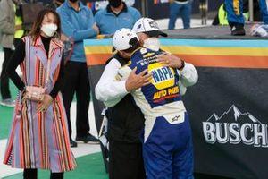 NASCAR Cup-Champion 2020: Chase Elliott, Hendrick Motorsports, mit Rick Hendrick