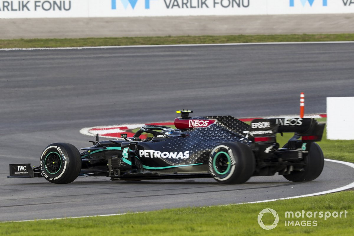 Testacoda di Valtteri Bottas, Mercedes F1 W11