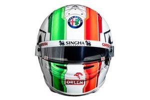Casco de Antonio Giovinazzi, Alfa Romeo Racing