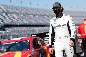 Corey LaJoie, Spire Motorsports, Chevrolet Camaro Netflix