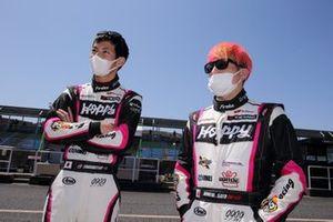 Takamitsu Matsui, Kimiya Sato, #25 HOPPY Porsche
