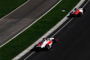 Simona De Silvestro, Paretta Autosport Chevrolet, Santino Ferrucci, Rahal Letterman Lanigan Racing Honda