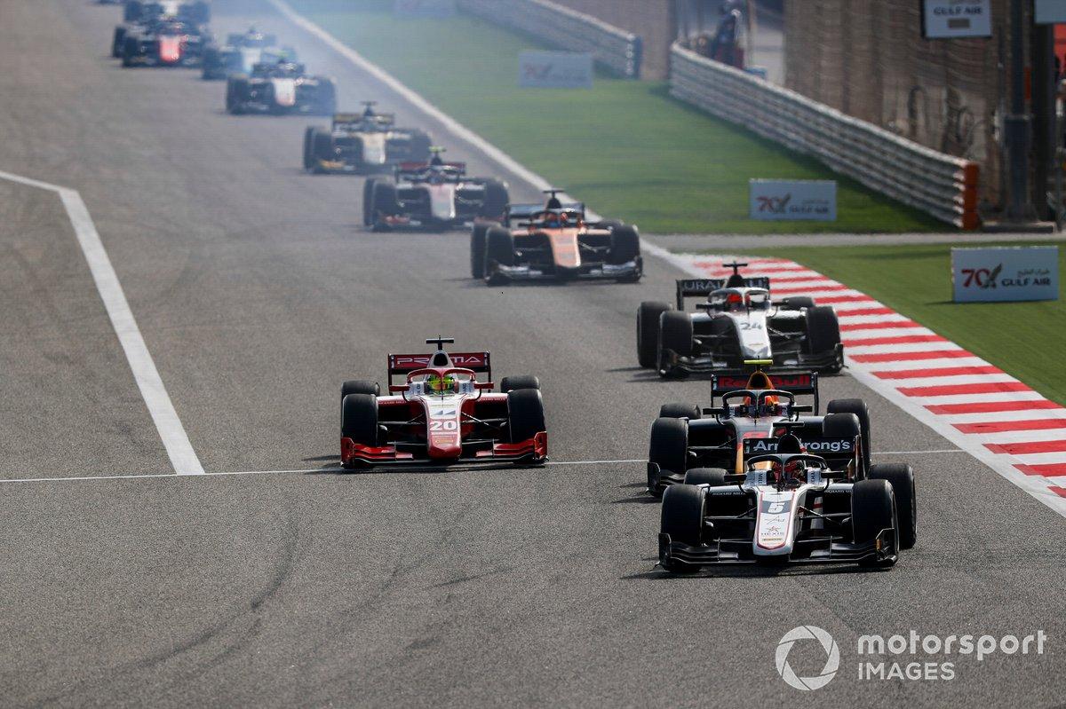 Marcus Armstrong, ART Grand Prix, Jehan Daruvala, Carlin y Mick Schumacher, Prema Racing
