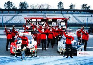 Champion Rene Rast, Audi Sport Team Rosberg with Jamie Green, Audi Sport Team Rosberg and the team