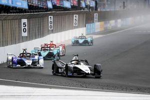 Edoardo Mortara, Venturi Racing, Silver Arrow 02, Jake Dennis, BMW i Andretti Motorsport, BMW iFE.21, Mitch Evans, Jaguar Racing, Jaguar I-TYPE 5