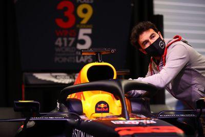 Sergio Pérez arrive chez Red Bull