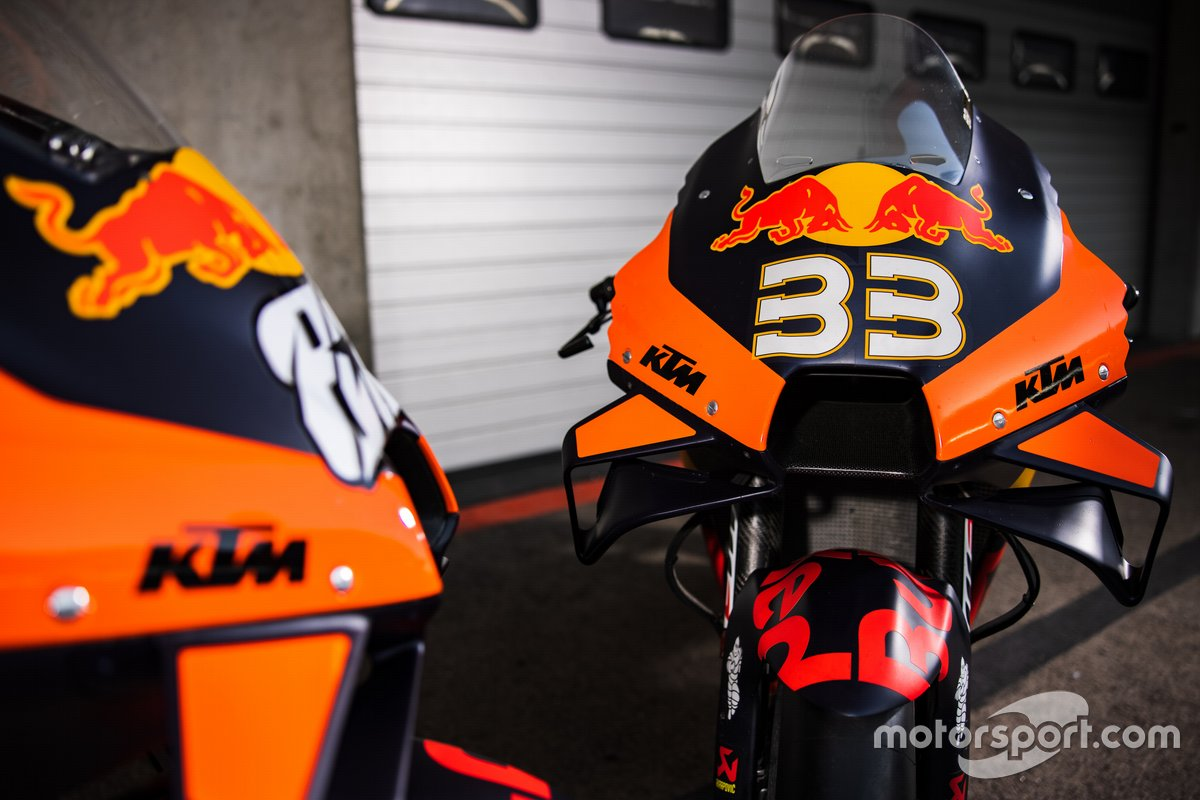 Brad Binder, Red Bull KTM Factory Racing motosikleti