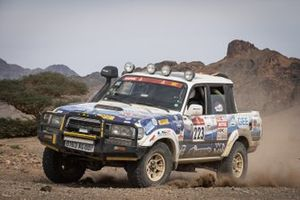 #223 Merinoteam Toyota: Merino Alberto Garcia, Merino Julian Garcia