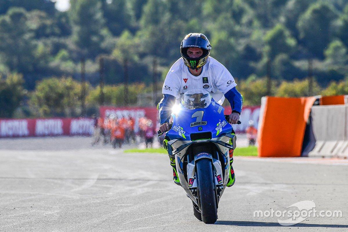 Campeón Mundial 2020: Joan Mir, Equipo Suzuki MotoGP