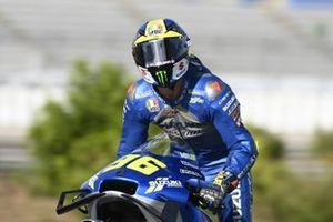 Race winner Joan Mir, Team Suzuki MotoGP