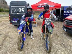 Andrea Dovizioso, Glenn Coldenhoff, latihan motocross.