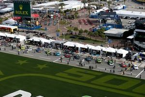 Overview of the pre-race before the 2021 IMSA Rolex 24 at Daytona International Speedway