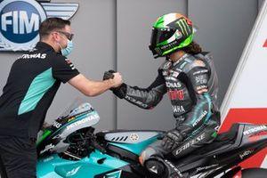 Polesitter Franco Morbidelli, Petronas Yamaha SRT
