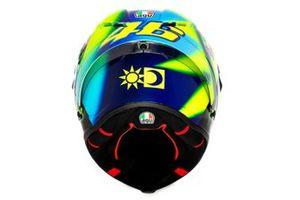 Helmet of Valentino Rossi, Petronas Yamaha SRT