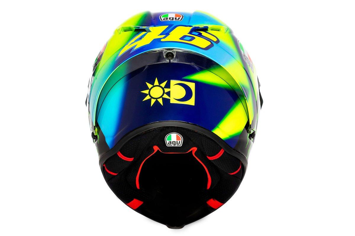 Le casque de Valentino Rossi