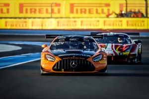 Mercedes-AMG GT3 №4 команды Haupt Racing Team: Маро Энгель, Лука Штольц, Венсан Абриль