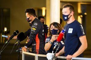 Alex Albon, Red Bull Racing parla con i media