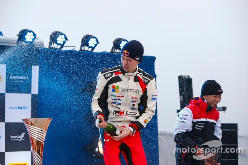 Podio: Kalle Rovanperä, Toyota Gazoo Racing