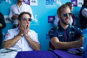 Antonio Felix da Costa, DS Techeetah, Sam Bird, Virgin Racing at the autograph session