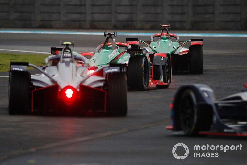 Daniel Abt, Audi Sport ABT Schaeffler, Audi e-tron FE06 Lucas Di Grassi, Audi Sport ABT Schaeffler, Audi e-tron FE06, Sam Bird, Virgin Racing, Audi e-tron FE06
