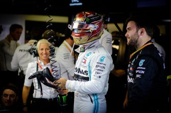 Lewis Hamilton, Angela Cullen, Mercedes AMG F1