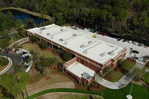 Vista aérea de la Colección Brumos