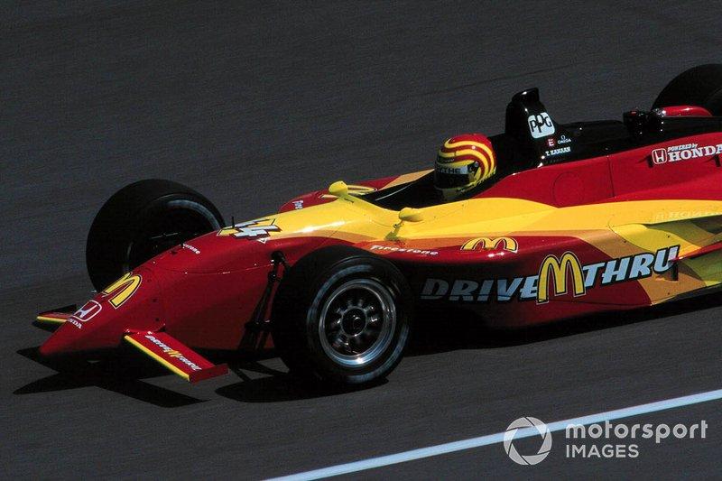 Já no ano seguinte, na Forsythe Racing, ele conseguiu sua primeira pole position, em Long Beach, e...