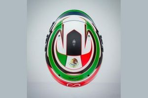 Новый шлем Патрисио О'Уорда, Arrow McLaren SP's