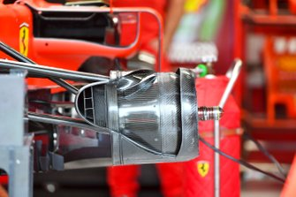 Front brakes of Ferrari SF90