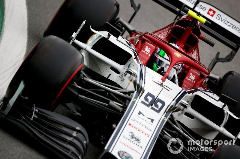 5º - Antonio Giovinazzi, Alfa Romeo Racing C38