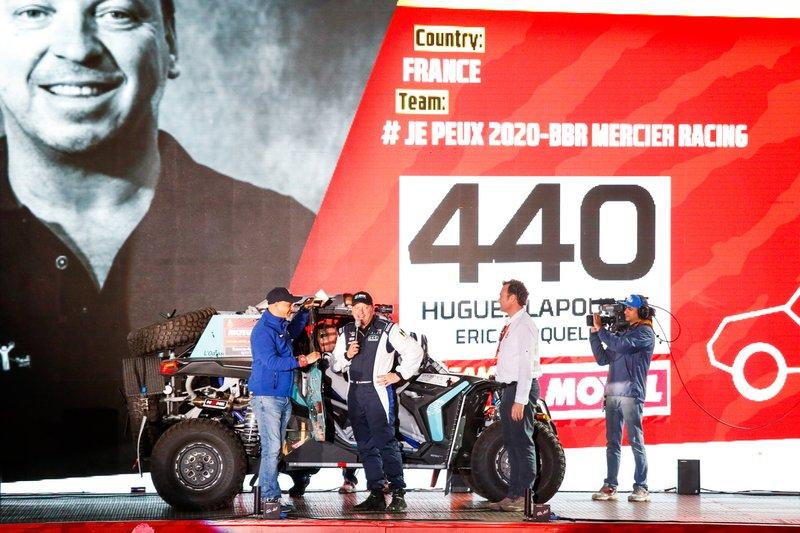 #440 BBR Mercier Racing - Can Am: Hugues Lapouille, Eric Croquelois