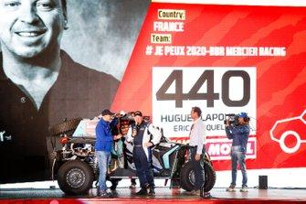 Юг Лапуй и Эрик Крокелуа, # Je Peux 2020-BBR Mercier Racing, Can-Am X3 (№440)