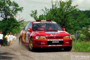 Gianmarino Zenere , Sauro Farnocchia, Subaru Impreza 555 Rajd Polski 1998