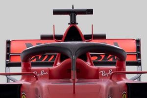 Ferrari SF1000 halo detail