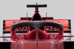 Vue détaillée du Halo de la Ferrari SF1000