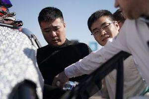 Sun Chao, Jaguar China Racing, Zhang Yaqi, Jaguar China Racing sulla griglia