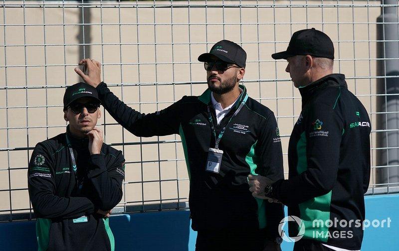 Mashhur Bal Hejaila, Saudi Racing, Fahad Algosaibi, Saudi Racing on the track walk