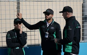 Mashhur Bal Hejaila, Saudi Racing, Fahad Algosaibi, Saudi Racing on the track walk