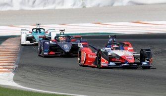 Jérôme d'Ambrosio, Mahindra Racing, M6Electro, Robin Frijns, Envision Virgin Racing, Audi e-tron FE06
