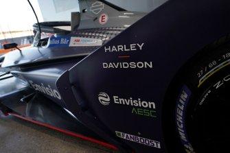 Sponsors on the Envision Virgin Racing, Audi e-tron FE06