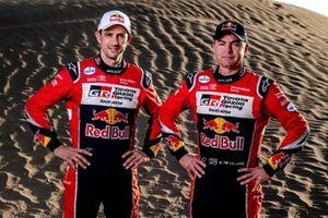 Giniel de Villiers, Alex Haro, Toyota Gazoo Racing