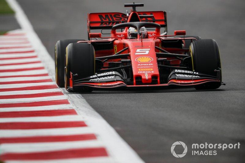 2 - Sebastian Vettel, Ferrari SF90