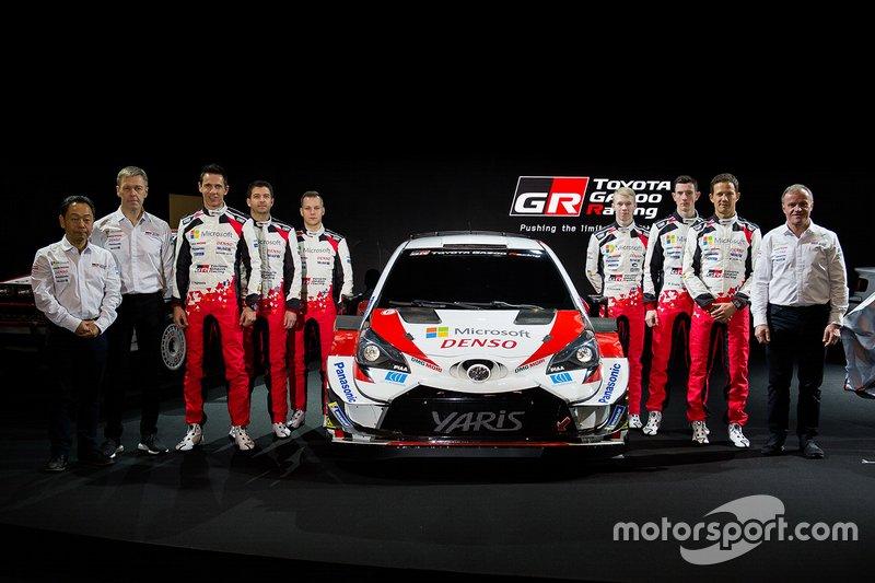Toyota Gazoo Racing lineup