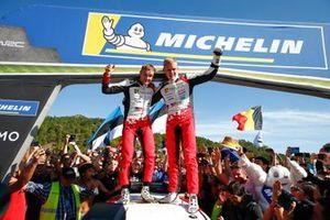 Worldchampion Ott Tänak, Martin Järveoja, Toyota Gazoo Racing WRT Toyota Yaris WRC