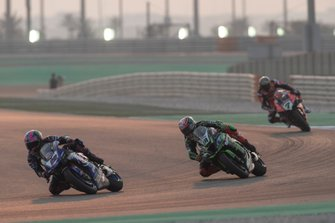 Alex Lowes, Pata Yamaha, Leon Haslam, Kawasaki Racing Team, Chaz Davies, Aruba.it Racing-Ducati Team