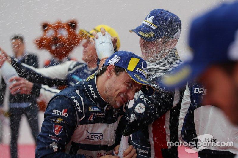 Podio: #22 United Autosports Ligier JSP217 Gibson: Philip Hanson, Filipe Albuquerque